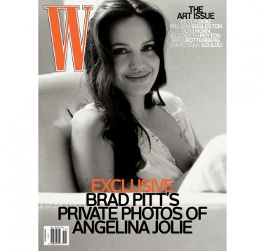 Pre-Owned W Magazine - Angelina Jolie Cover - November 2008