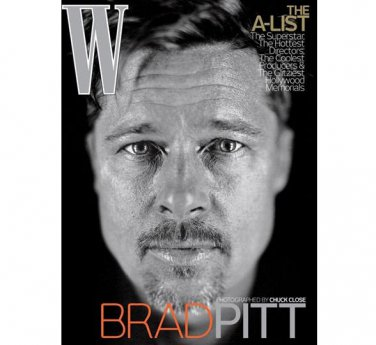Pre-Owned W Magazine - Brad Pitt Cover - February 2009