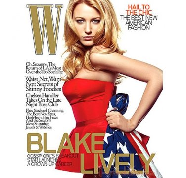 Pre-Owned W Magazine - Blake Lively Cover - December 2008