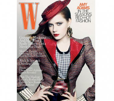 Pre-Owned W Magazine - Amy Adams Cover - May 2009