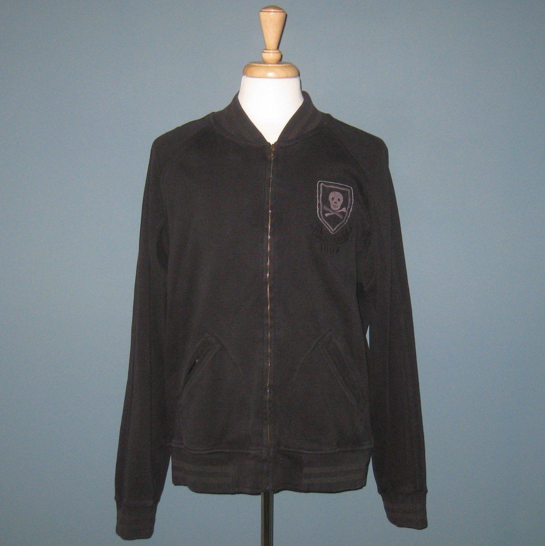 NWT Polo Ralph Lauren Black New York Rugby Skull & Crossbones Jacket - XL