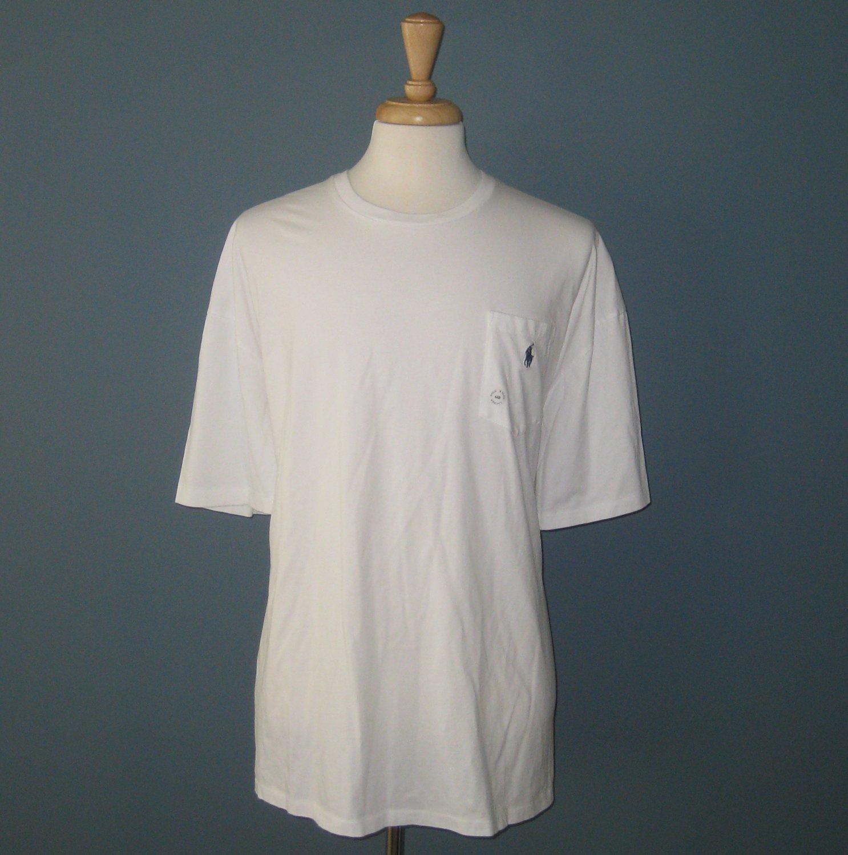 NWT Polo Ralph Lauren S/S 100% Cotton Big & Tall Pocket T-Shirt - 4XB