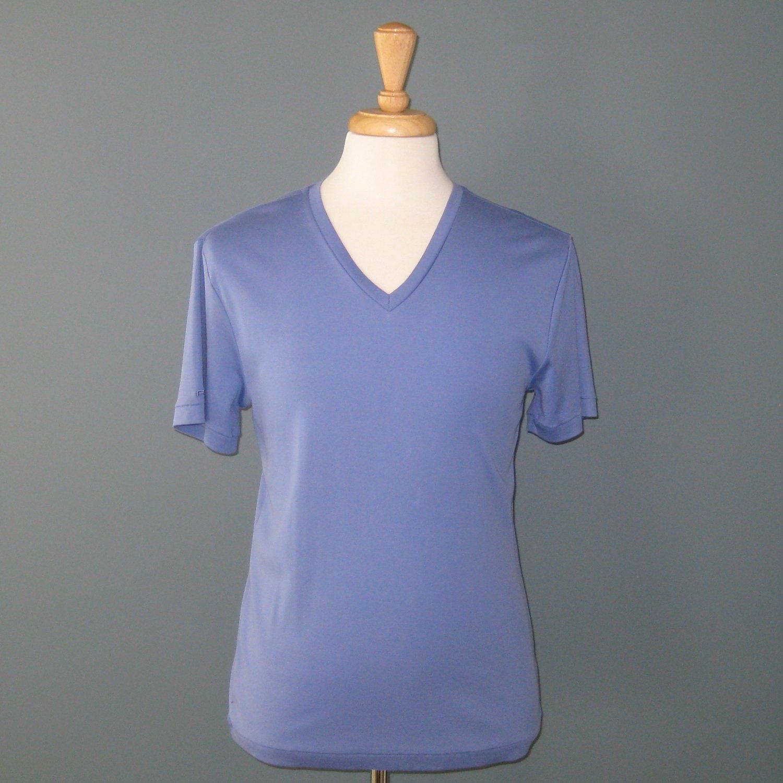 NWT Ralph Lauren Black Label Blue 100% Cotton V-Neck T-Shirt - M