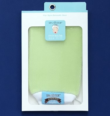 NIP Spa Sister Celery Green Miracle Smoothing Spa Mitt