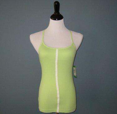 NWT Lilly Pulitzer Green Cotton Modal Rib Knit Racerback Tank - M