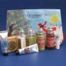 NIP L'Occitane Shea & Verbena Essentials Travel Gift Set - 9 Piece Set
