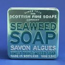 Scottish Fine Soaps Tin Collection Triple Milled 100G  Soap - Seaweed
