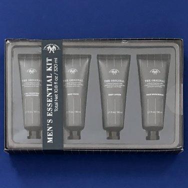 NIB Tri-Coastal Design Men's Original 4-PC Essentials Grooming Kit