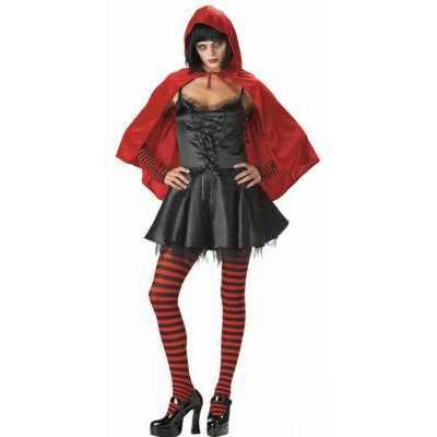 Gothic Little Dead Riding Hood Adult Costume Size: Large #00752