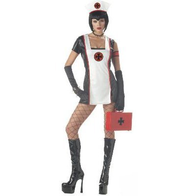 Gothic Deadly Dose Nurse Adult Costume Size: Large #00734