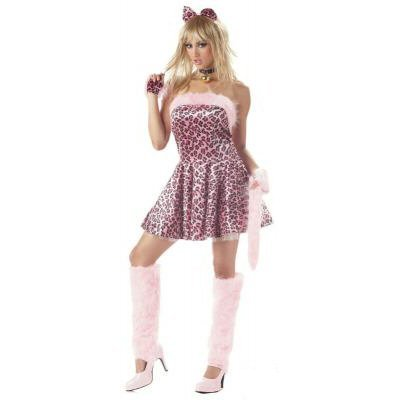 Purrty Kitty Adult Costume Size: Small #00822