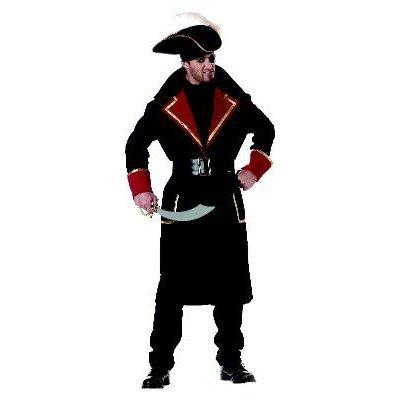 Captain Scurvy Pirate Costume Size: Large #01348