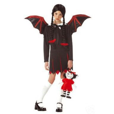 Very Bat Girl Child  Costume Size: Large #00224