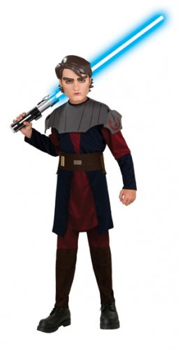 Clone War Anakin Skywalker Child Costumes Size: Large #883194
