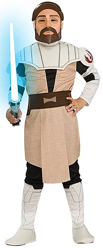 Child SMALL -Clone War Obi Wan Kenobi  - Kids Halloween Costumes