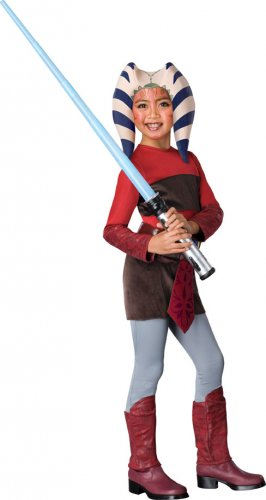 Child LARGE-Clone War Ahsoka�   - Kids Halloween Costumes
