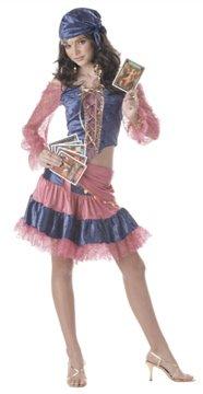 Fortune Teller Diva of Destiny Gypsy Teen Costume Size: Jr (7-9) #05009