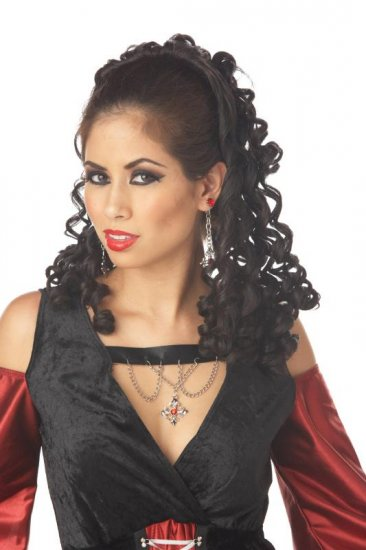 Romantic Fall Renaissance Princess Adult Costume Wig #70501