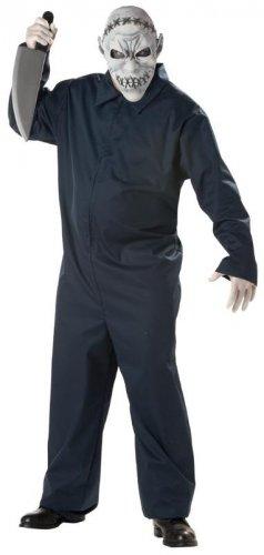 Prison Jailer Jason Maniac Adult Plus Size Costume #01655