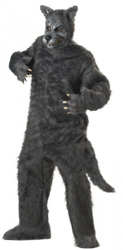 Red Ridng Hood Big Bad Wolf Adult Costume #01011