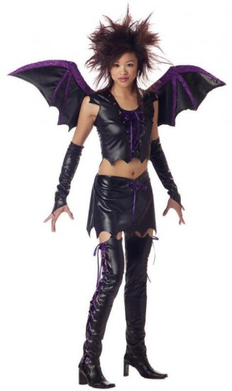 Moonlight Vixen Bat Teen Costume Size: Jr (3-5) #05095