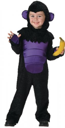 Goofy Gorilla Toddler Costume Size: Medium