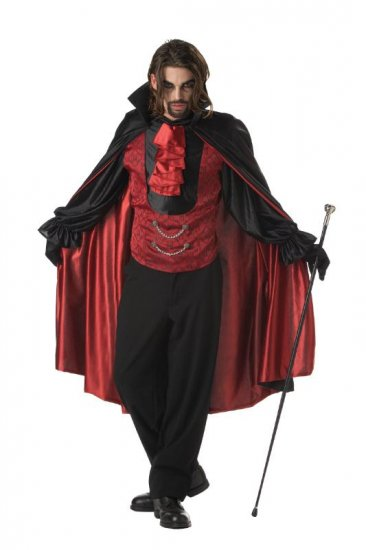 Dracula Vampire Count Bloodthirst Adult Costume Size: Large #00744
