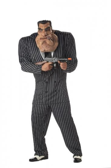 Massive Mobster Gangster Adult Costume Size: Large #00715