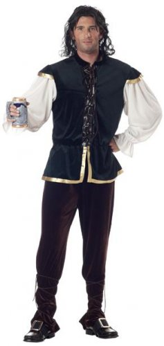 Tavern Man Oktoberfest Medieval Adult Costume Size: Medium #01136