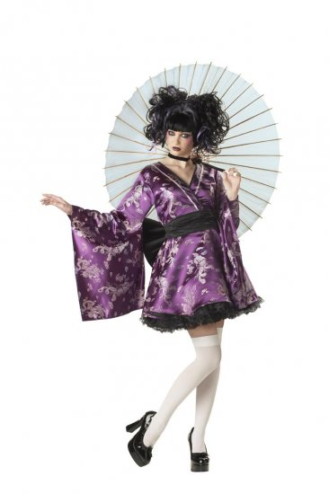 Geisha Lovely Lolita Adult Costume Size: Medium #01063