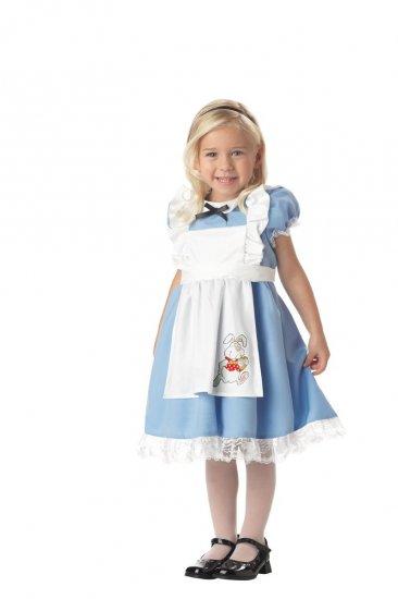 Alice in Wonderland Toddler Costume Size:  Large #00069