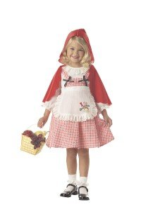 Little Red Riding Hood Toddler Costume Size: Large