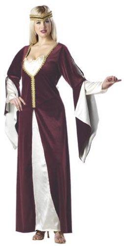 Medieval Renaissance Regal Princess Plus Size Adult Costume #01616