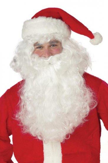 Classic Santa Claus Christmas Wig and Beard Costume #60089