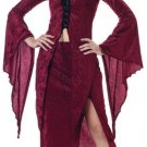 Dark Gothic Vampire Maiden of Darkness Teen Costume Size: Jr (3-5) #05093_Burgundy