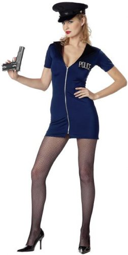 Sexy Rookie Police Office Adult Costume Size: Medium #09021