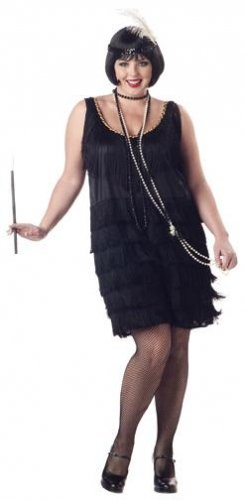 Fashion Flapper Plus Size Adult Costume: 2X-Large #01048