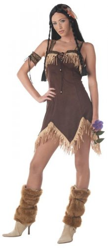 Pocahontas Sexy Indian Princess Thanksgiving Adult Costume Size: Small