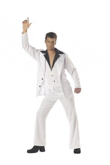 Disco Dude Saturday Night Fever Adult Costume Size: Large #01084