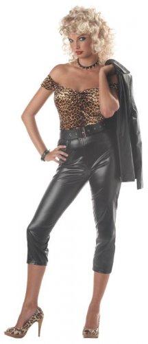 50's Hot Rod Honey  Grease Adult Costume Size: Medium #00932