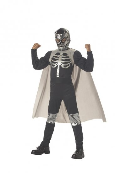 WWF Wrestlers El Muerto Luchadore Child Costume Size: Small #00328