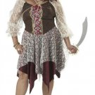 South Seas Siren Pirate Plus Size Adult Costume: 2X-Large #01636