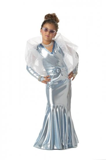 Glamorous Movie Star Child Costume Size: Small #00273