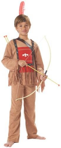 Native American Chief Indian Running Bull Thanksgiving Child Costume Size: X-Small #00521