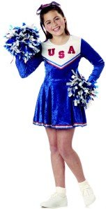 Pep Rally Cheerleader Child Costume Size: X-Small