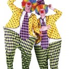 Circus Hoop Clown Adult Costume #00957