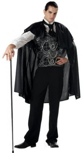 Victorian Vampire Adult Costume Size: Medium