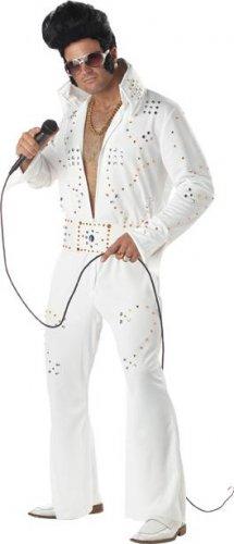 Elvis Presley Rock Legend Adult Costume Size: Medium #00958