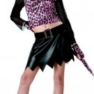 Sassy Cat Leopard Child Costume Size: Large #00249