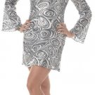 70's Disco Diva Adult Plus Size Costume: 2X-Large #01660